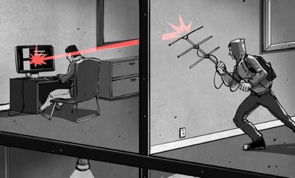 如何用扫描仪控制的恶意程序,从隔离的网络中获取数据(含攻击演示视频)