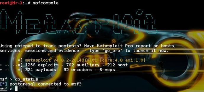 利用metasploit进行信息收集 - 熊猫正正 - 熊猫正正的博客