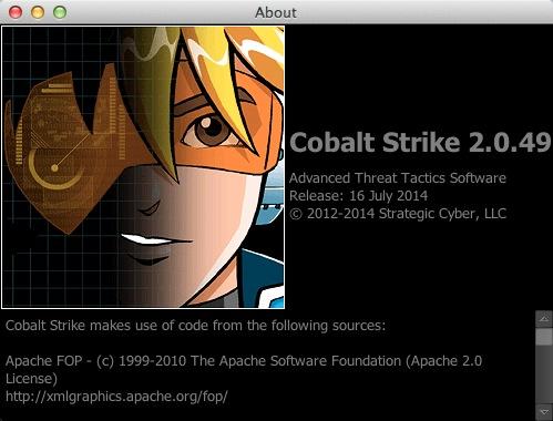自动化攻击测试平台Cobalt Strike 2.0.49破解版
