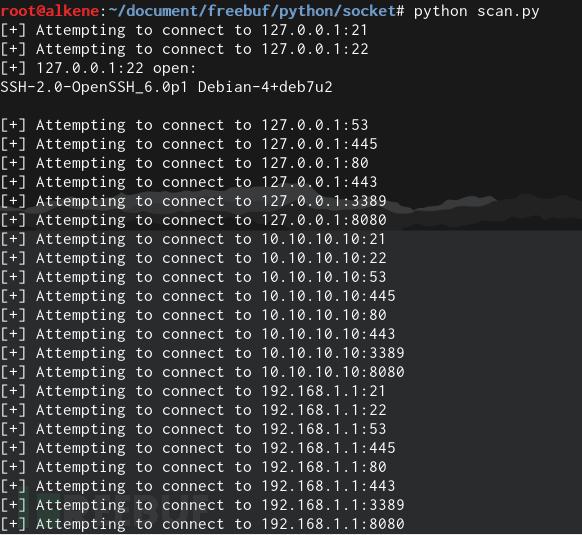 Python黑客学习笔记:从HelloWorld到编写PoC(上)_python_Thinking And