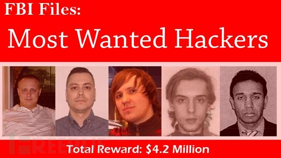 他们都干了什么?FBI悬赏420万美元捉拿这五个黑客