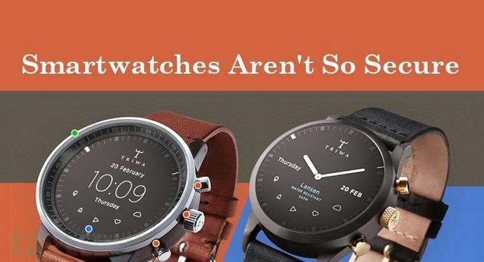 苹果、三星纷纷中枪:没有一个智能手表是安全的