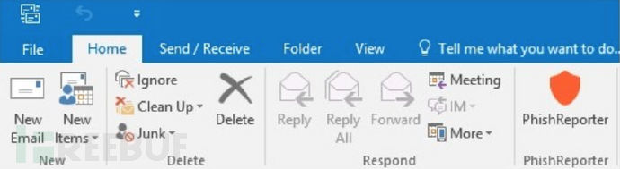 PhishReporter:一款内嵌到Outlook客户端的恶意邮件报告工具(附下载)