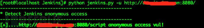 Jenkins弱口令扫描器