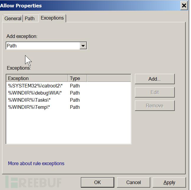 Applocker:Windows网络保护之应用程序控制策略