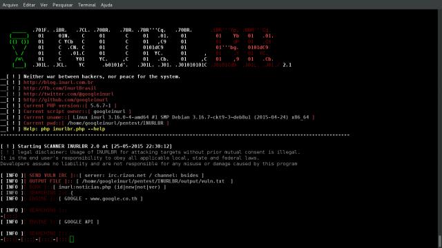 INURLB,一款高级黑客搜索引擎工具