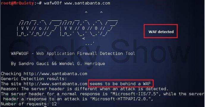 识别WEB应用防火墙(WAF)?这个工具能帮到你
