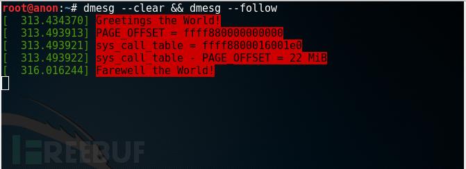Linux Rootkit 系列二:基于修改 sys_call_table 的系统调用挂钩