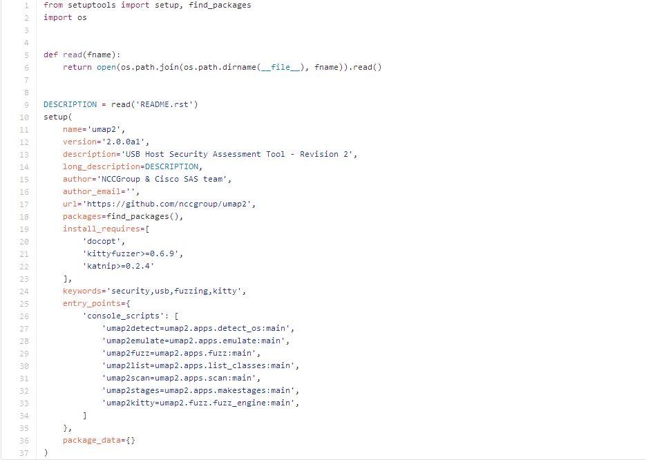 Umap2:开源USBhost安全评估工具|