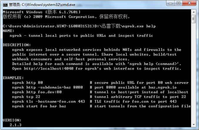 ngrok一款内网穿透+记录HTTP请求的神器(支持HTTPS