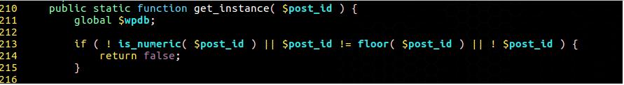 漏洞关键代码
