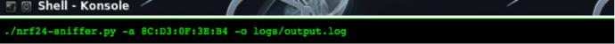 一款针对无线键鼠的劫持攻击工具 – Mousejack Transmit