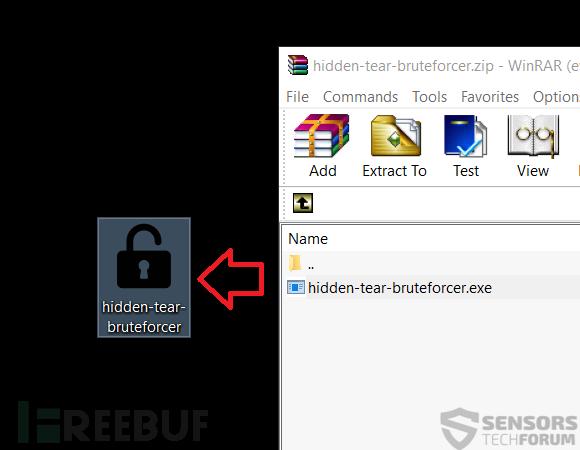 2-hidden-tear-bruteforcer-extract-sensorstechforum.png