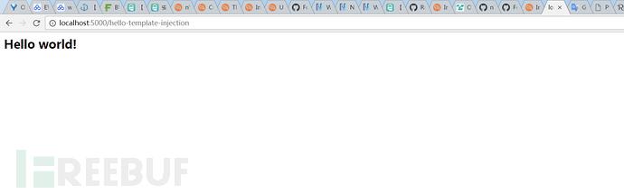 服务端注入之Flask框架中服务端模板注入问题