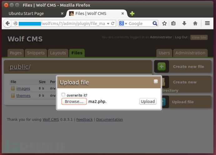 Wolf CMS 0.8.2版本