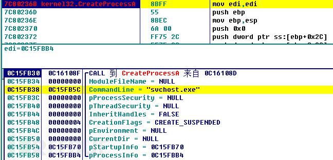 将shellcode注入到svchost.exe系统进程中.png