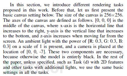 paper中对图片渲染的简介