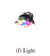 测试漫射点光和Suzanne模型的相互作用