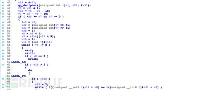 SpyDealer中的TEA加密算法代码