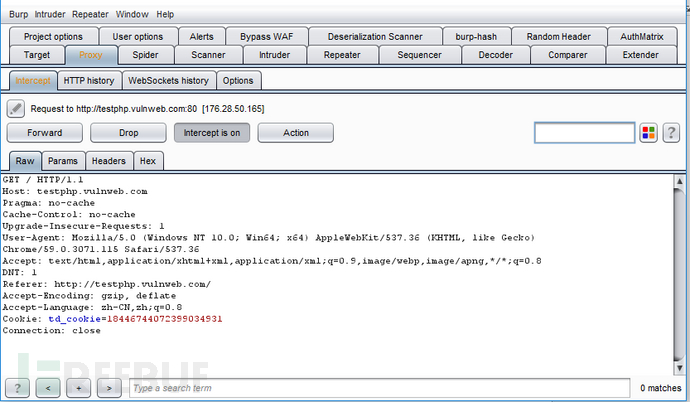 Burp Suite扫描器功能介绍及简单教程