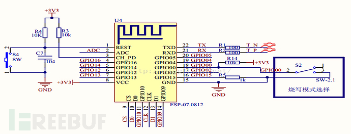 esp8266原理图