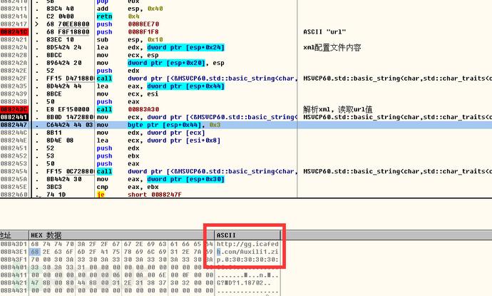 解析XML, 读取URL