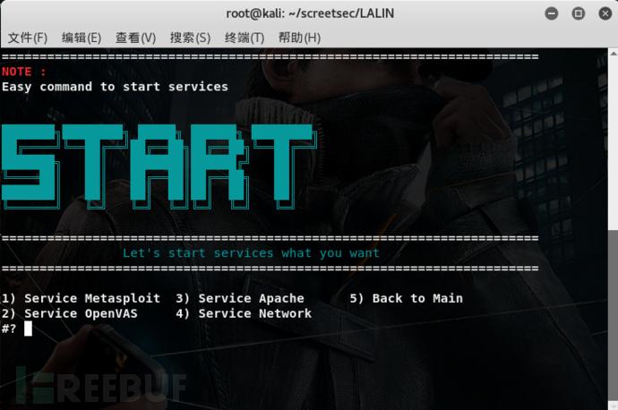 Start Services