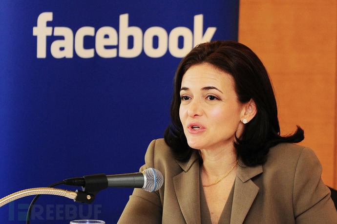 Facebook 的首席运营官 Sheryl Sandberg