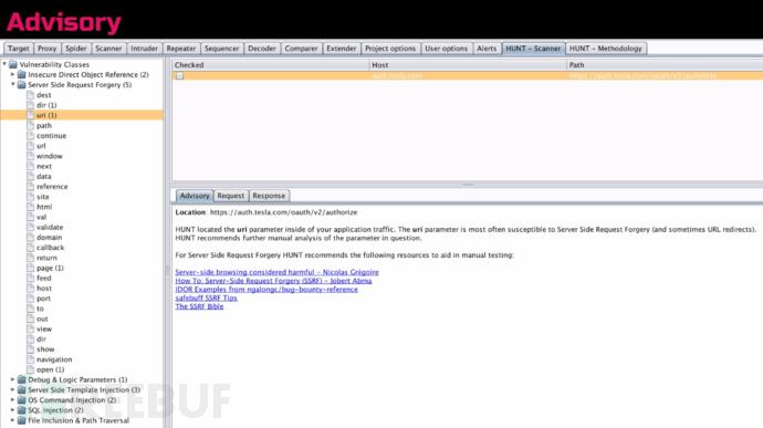 HUNT Scanner(hunt_scanner.py)