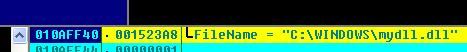 该dll主要做浏览器劫持,但由于木马调用时出错,导致该调用会崩溃
