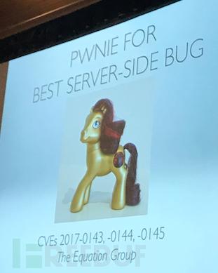 最佳服务器端漏洞奖