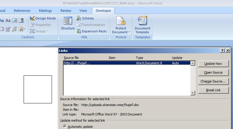 Office高级威胁漏洞在野利用分析