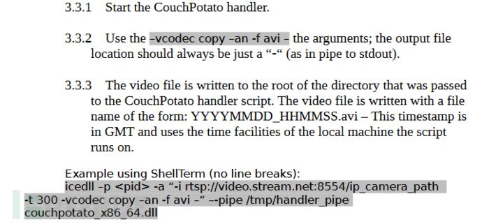 维基解密公开的新工具CouchPotato,窃取RTSP/H.264视频流