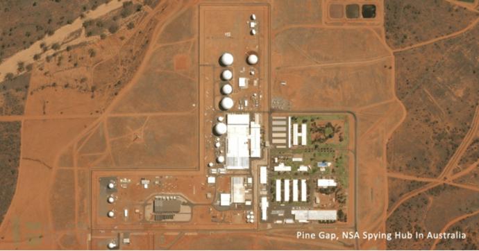 """斯诺登最新文件:曝光美国位于澳洲北部的秘密监控设施""""Rainfall"""""""