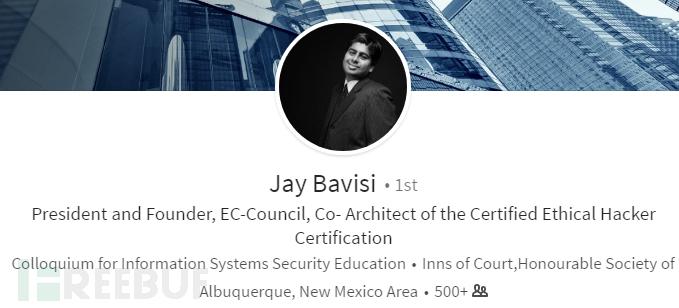 Jay Bavisi先生