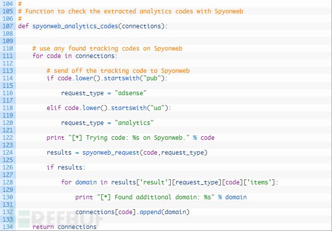 """如何通过追踪代码自动发现网站之间的""""关联"""""""
