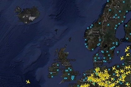 在智能手机上跟踪ADS-B系统的飞机航线信息
