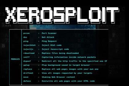 教你如何和使用这款强大的渗透平台-Xerosploit
