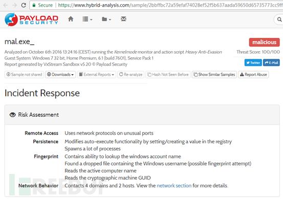 利用威胁情报数据平台拓展APT攻击线索一例