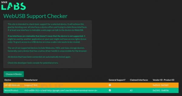 WebUSB:一个网页是如何从你的手机中盗窃数据的(含PoC)