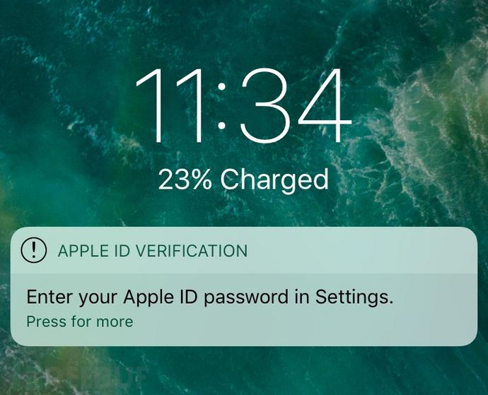 iOS隐私安全之通过popup向用户索取Apple ID和密码