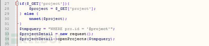 SQL注入漏洞1-2源码部分.JPG