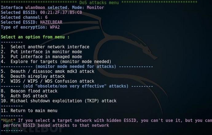 如何使用Airgeddon搭建基于软件的WIFI干扰器