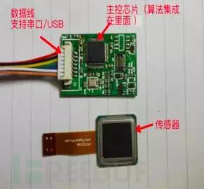 FPC 1020电容指纹传感模块(传感器+主控)