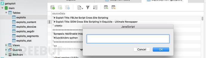 看不见的攻击面:查看SQLite数据库就中招?