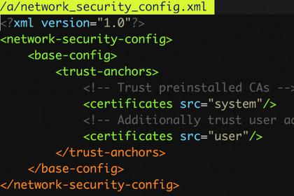 如何绕过安卓的网络安全配置功能