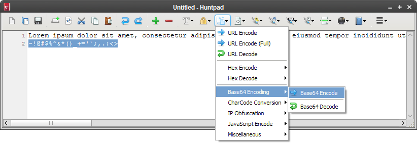 Huntpad: 一款专为渗透测试人员设计的Notepad应用程序