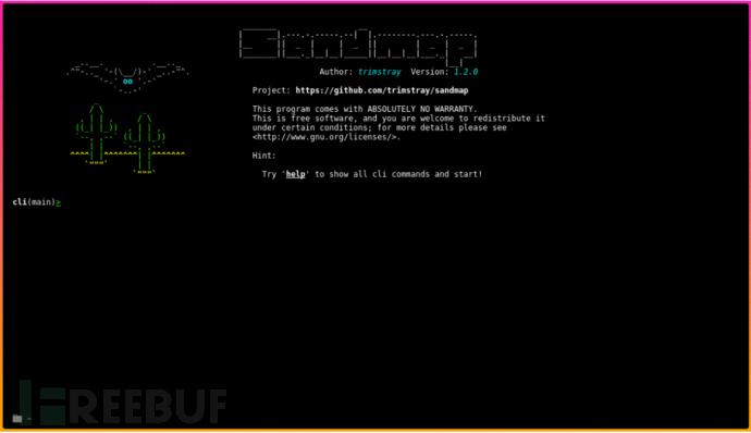 Sandmap:使用大规模Nmap引擎支持网络和系统侦察的工具